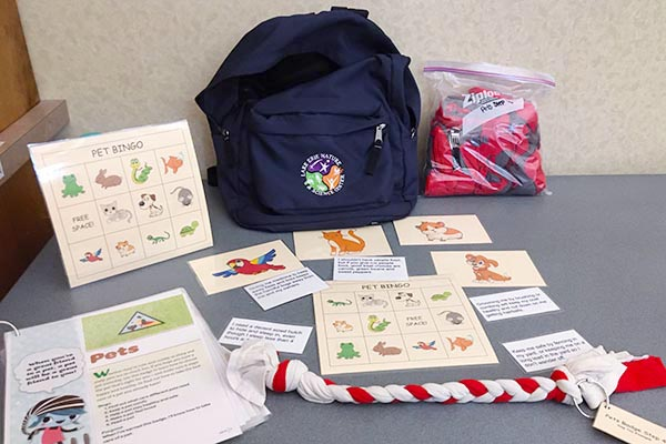 Pets Backpack for Brownie Girl Scouts