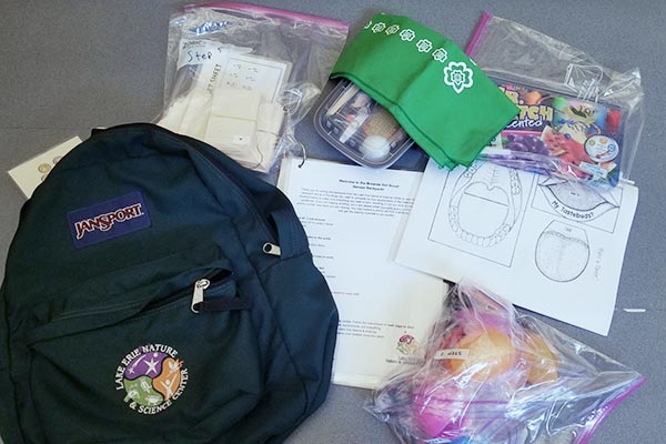 Senses Backpack for Brownie Girl Scouts