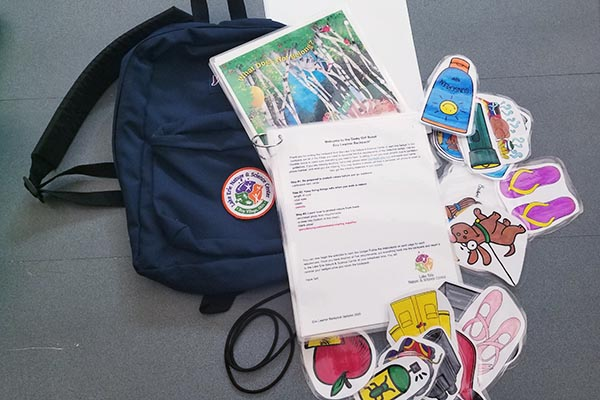 Eco Learner Backpack for Daisy Girl Scouts