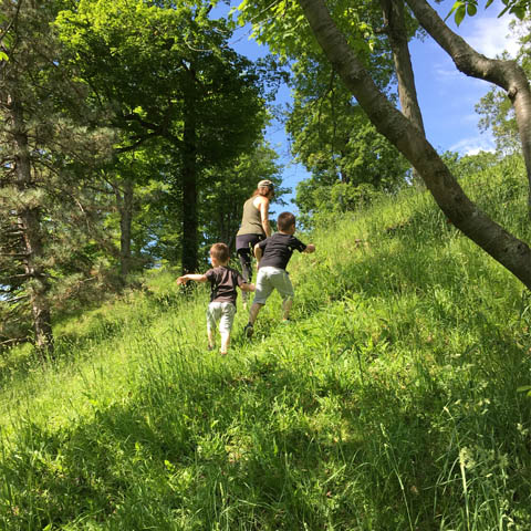 Nature Hike with children